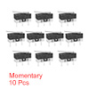 10 Pcs G1003-150P02A AC 125V SPDT 1NO 1NC Momentary Long Hinge Lever Micro Switch