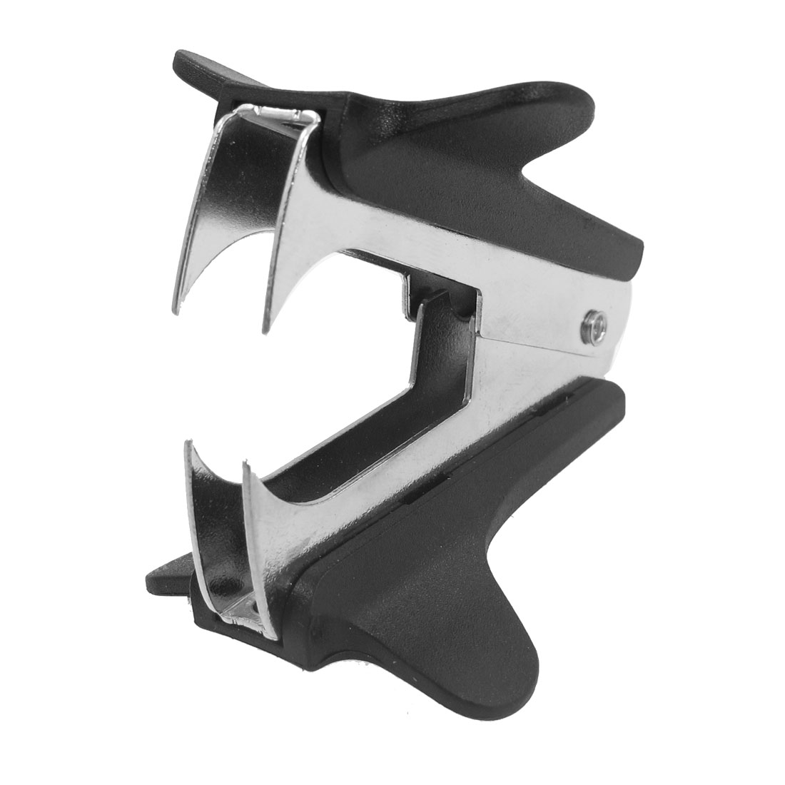 School Office Jaw Style Black Plastic Metal Staple Remover