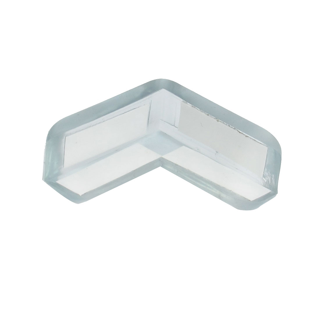 Clear Blue Soft Plastic Desk Corner Safety Pad Protector