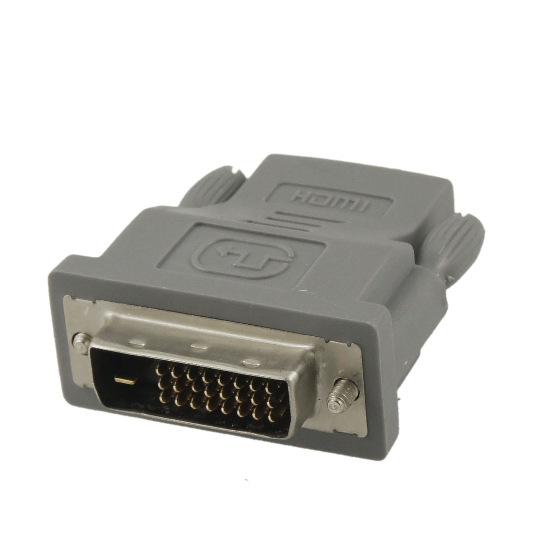 DVI-D 24+1 Pin Male to HDMI Female Adapter Connector for Projector