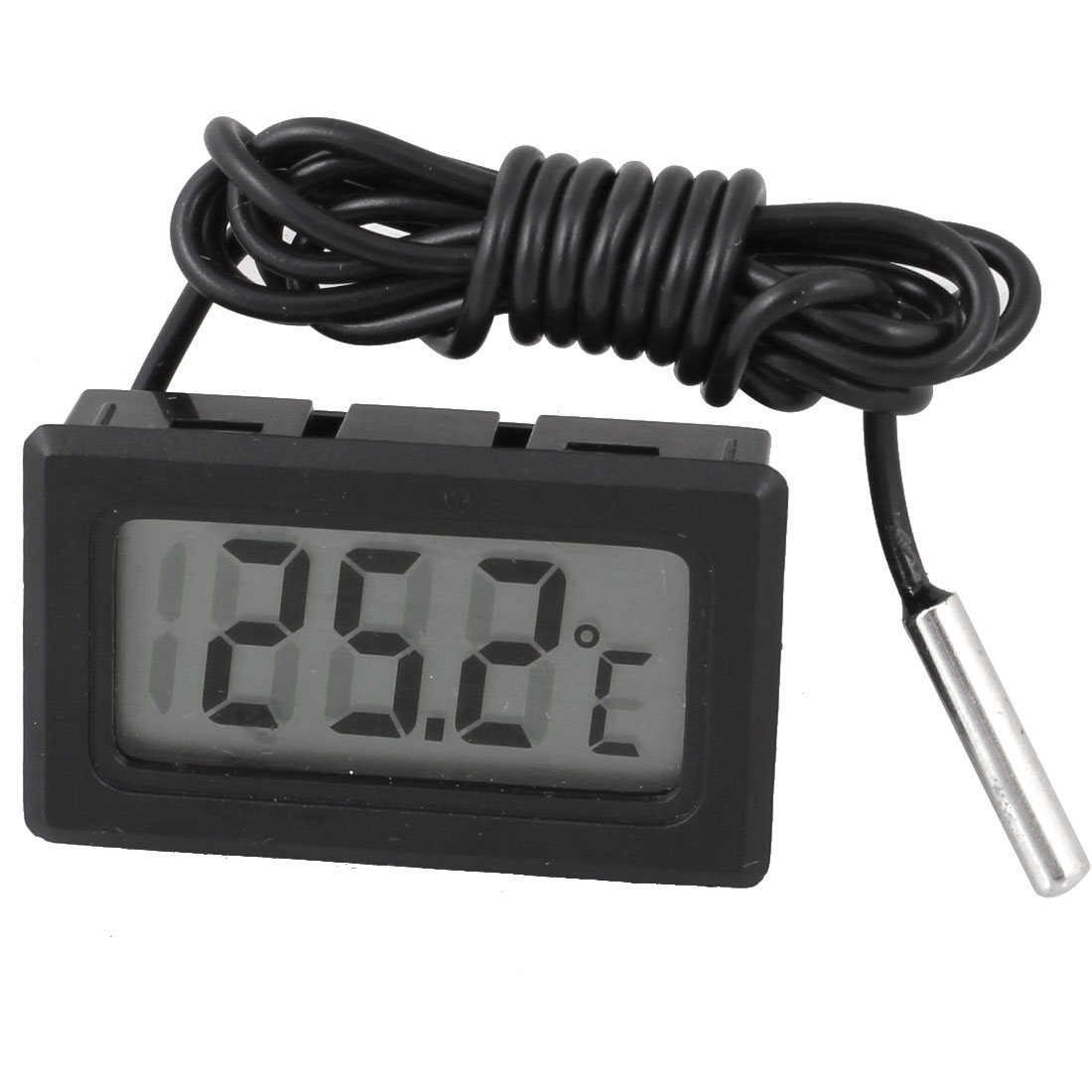 "38.2"" Length Cable LCD Screen Display Digital Thermometer Probe"
