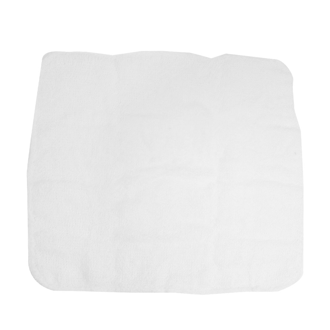 Travel Yellow White Capsule Shape Case Square Face Cleaning Towel
