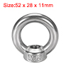 12mm Female Thread 304 Stainless Steel Lifting Eye Bolt Ring