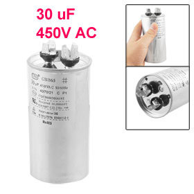 CBB65 Air Conditioner Round Motor Run Capacitor 450V AC 30 uF