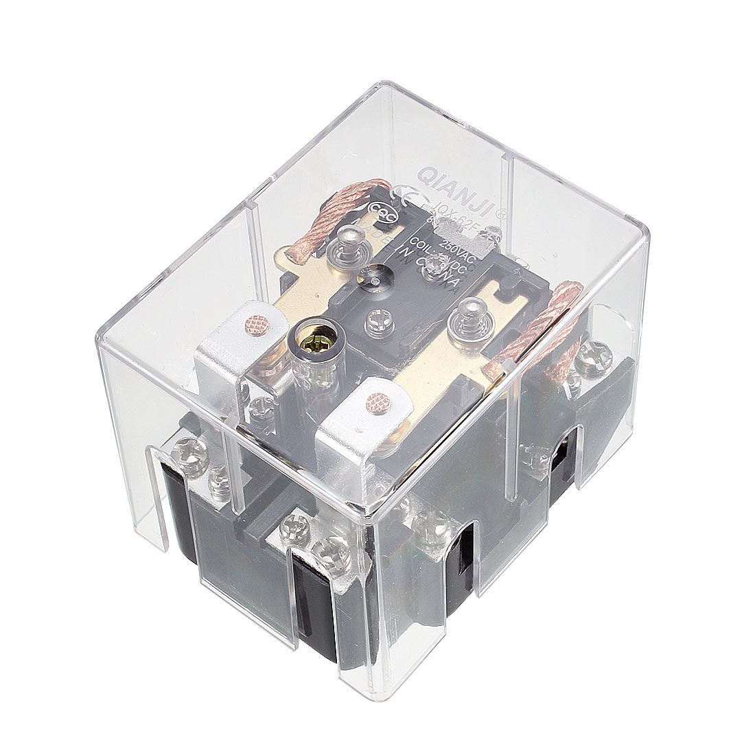 JQX-62F-2Z Coil Voltage DC 12V 80A DPDT Electronmagnetic Relay