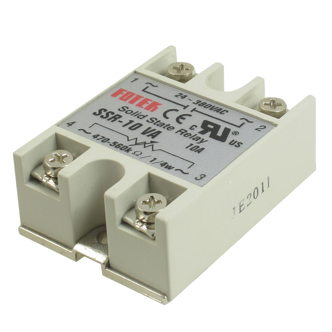 SSR-10VA AC 24-380V Solid State Relay Voltage Resistance Regulator