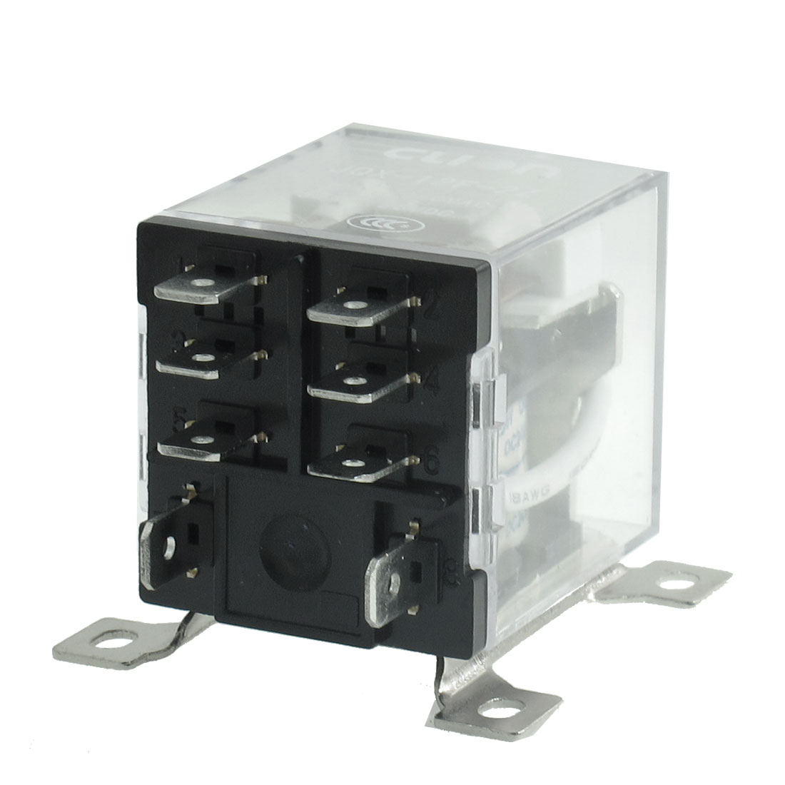 JQX-12F 2Z DC 24V 30A DPDT General Purpose Power Relay 8 Pin