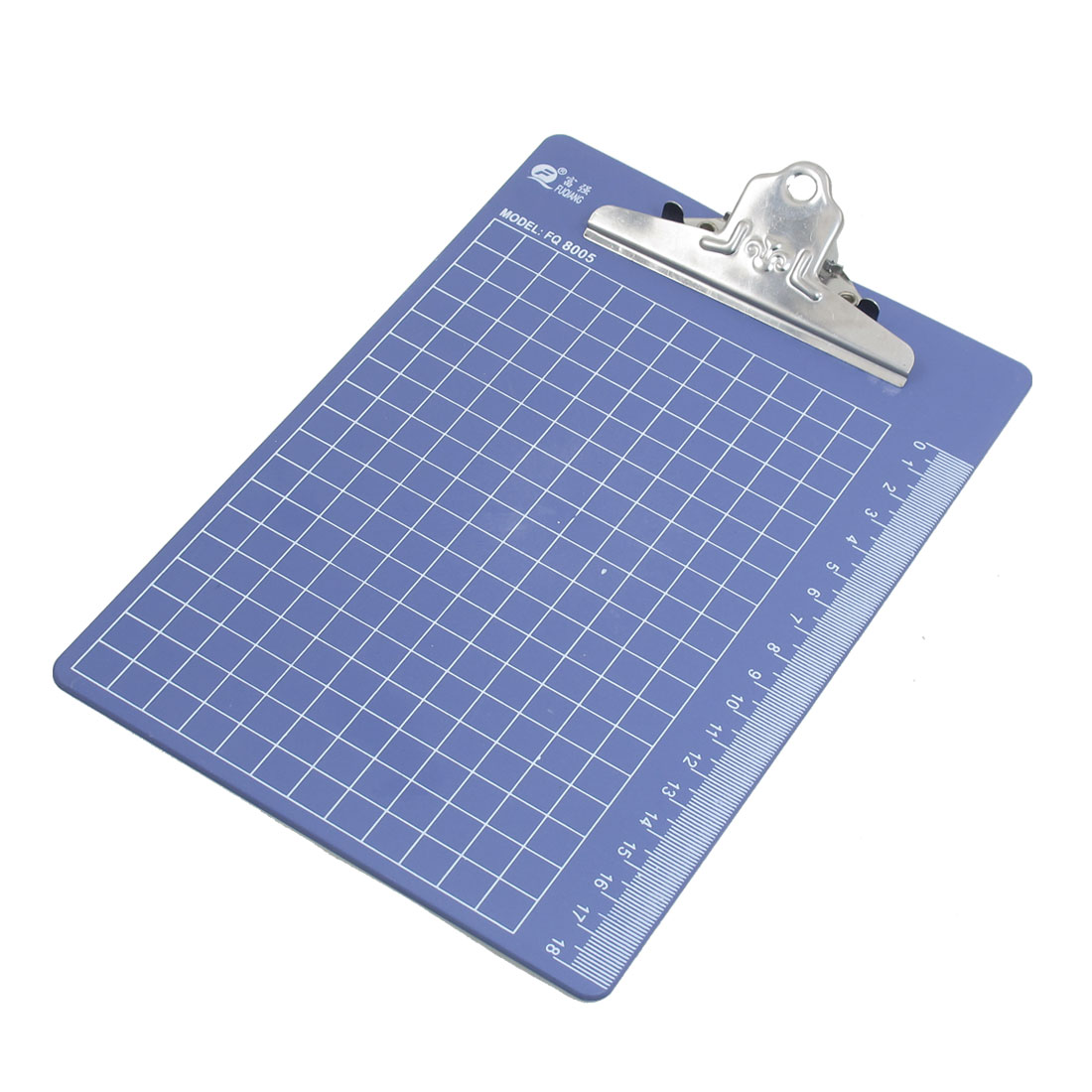 Blue Binder Clip Stationery Document Paper File Tablet Folder