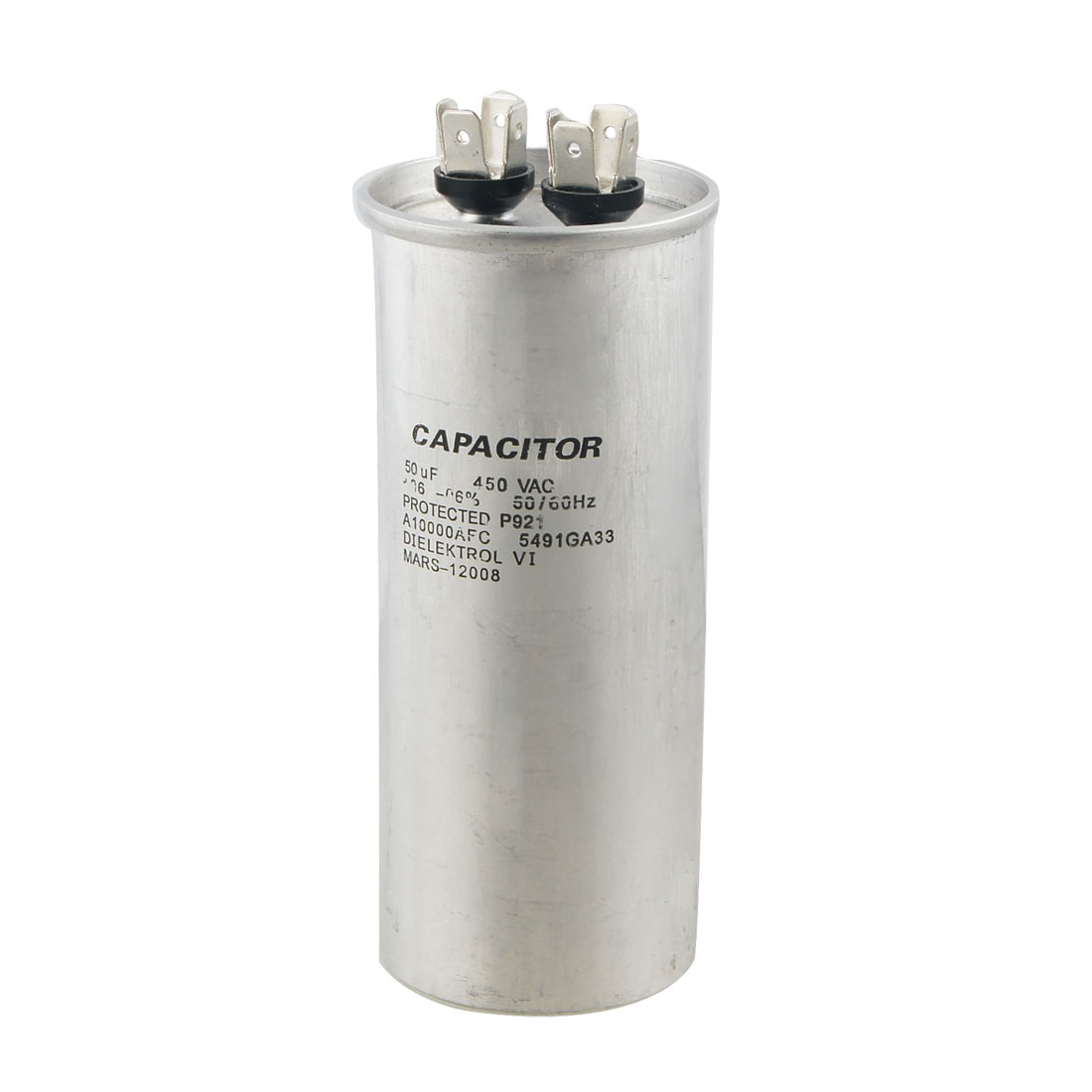 Air Conditioner 50uF 450V AC Polypropylene Film Motor Run Capacitor