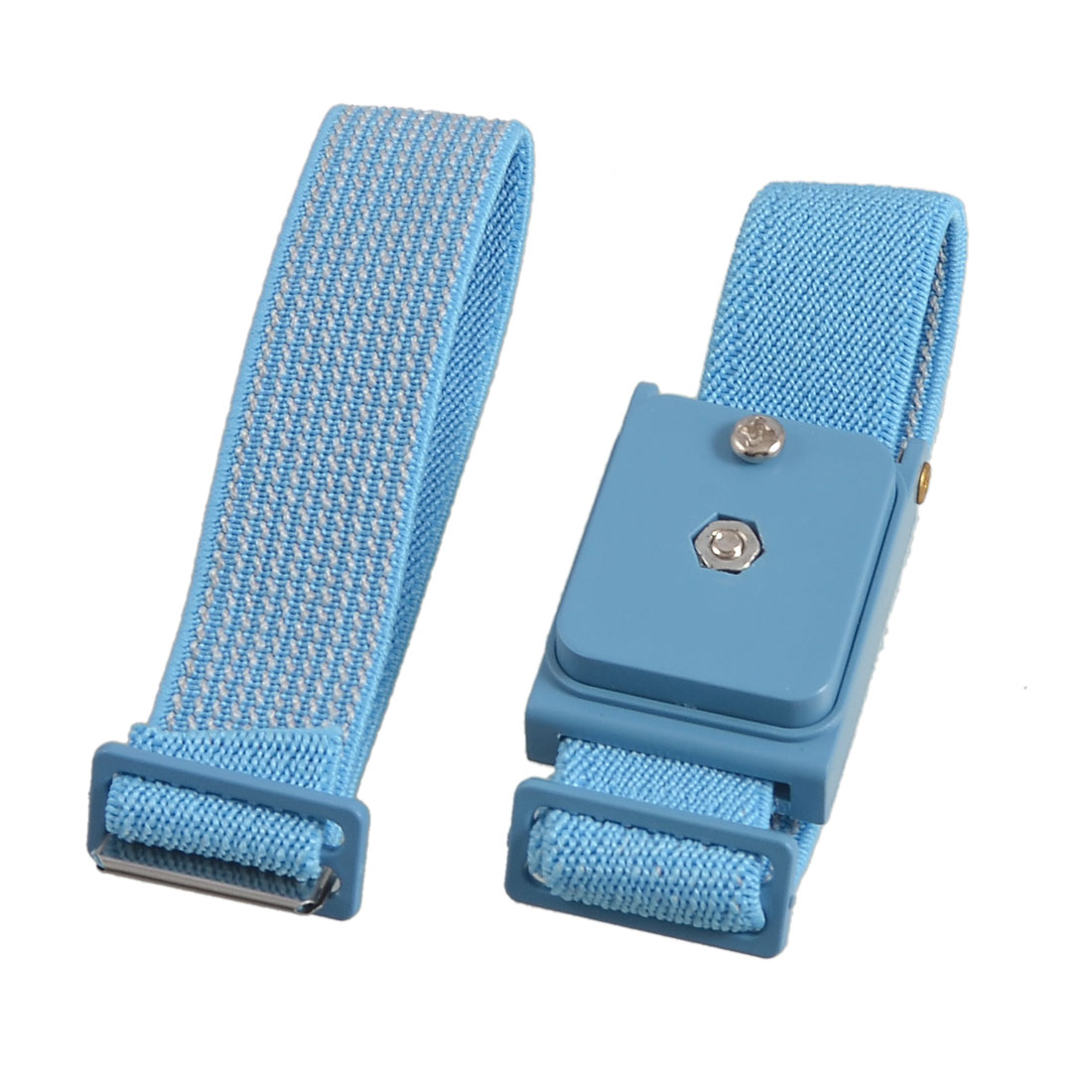 Blue Wireless Anti Static Discharge Band Ground Wrist Strap Band