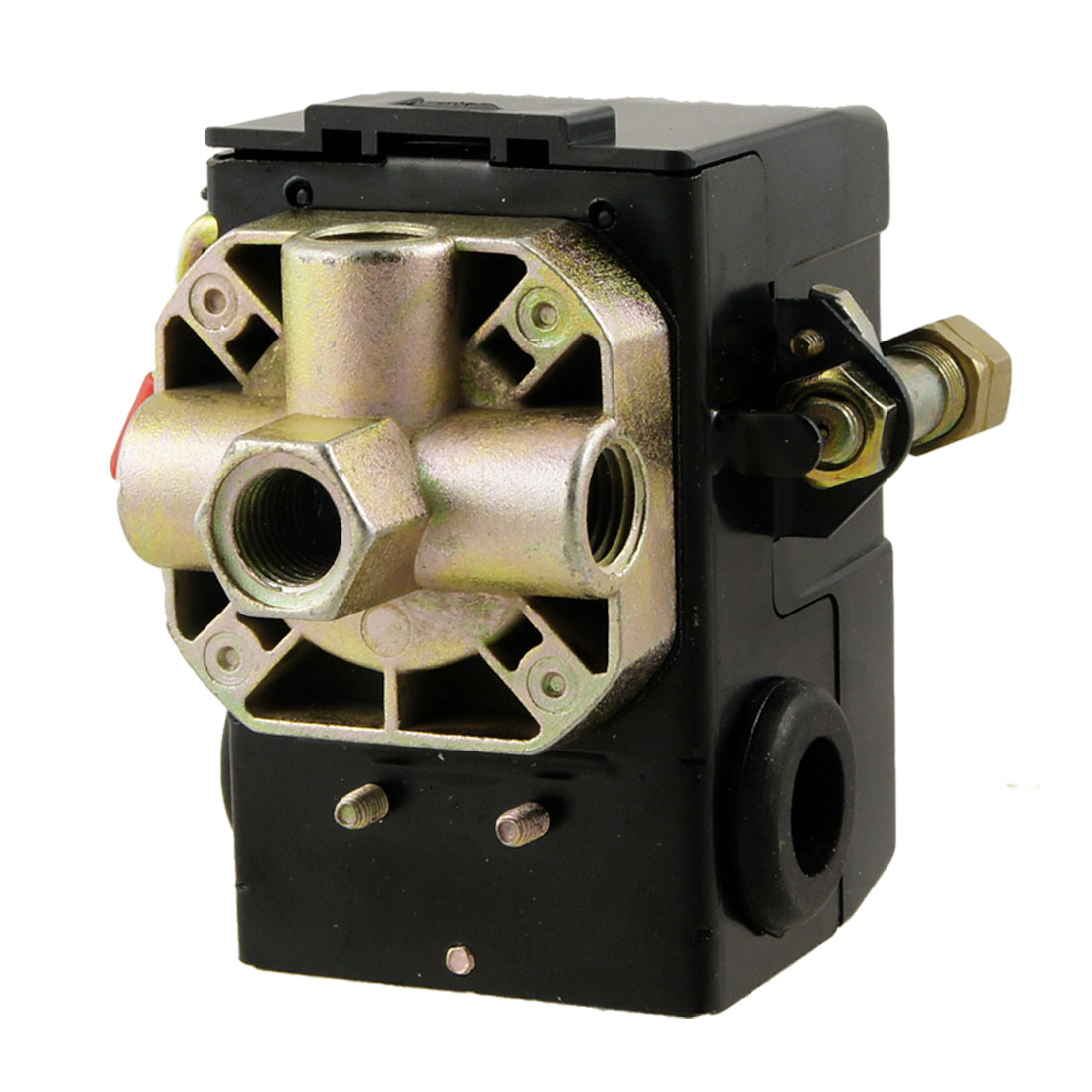 115PSI 1/4 NPT 4-Port Air Compressor Pneumatic Pressure Switch Control Valve