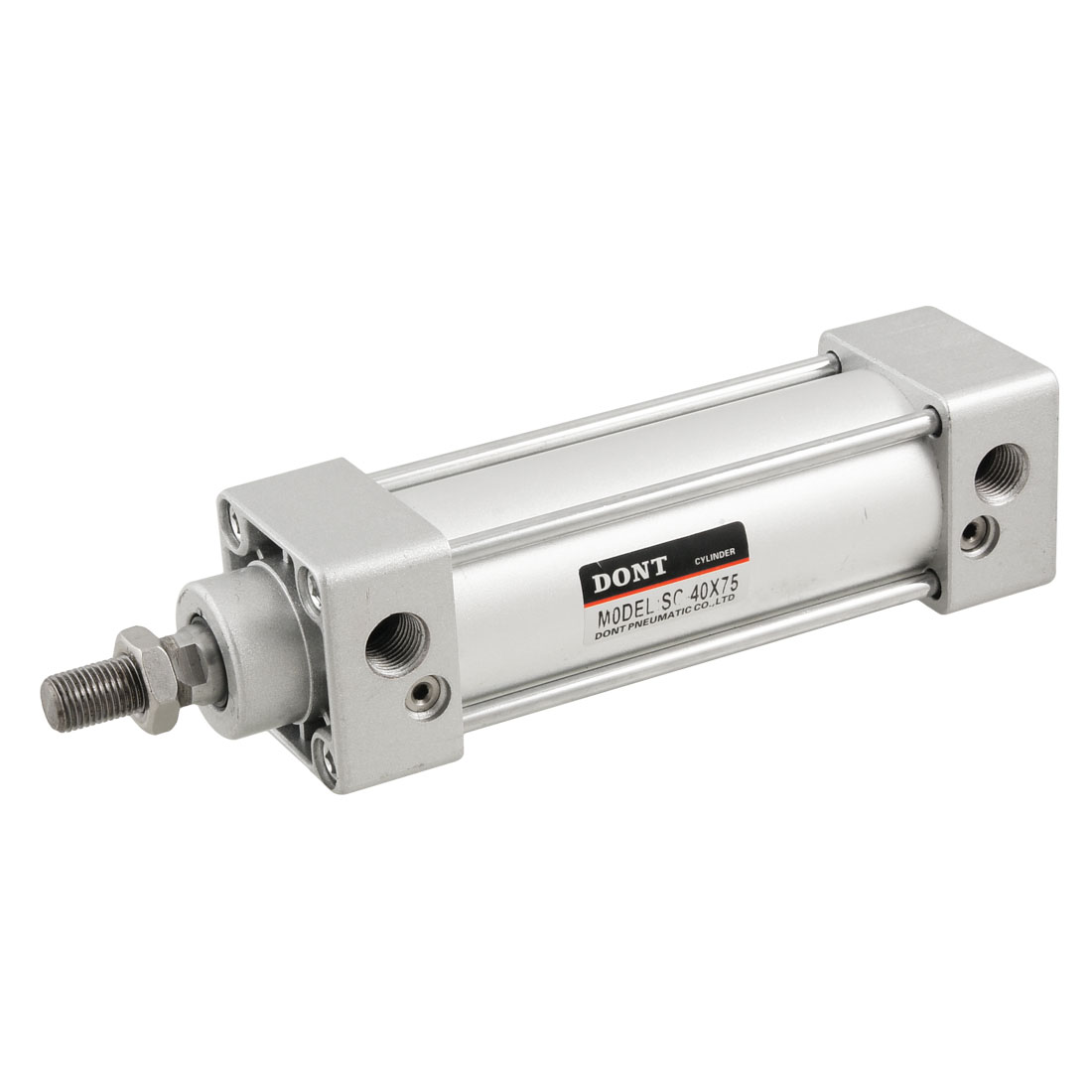 40mm Bore 75mm Stroke Stainless Steel Mini Pneumatic Air Cylinder