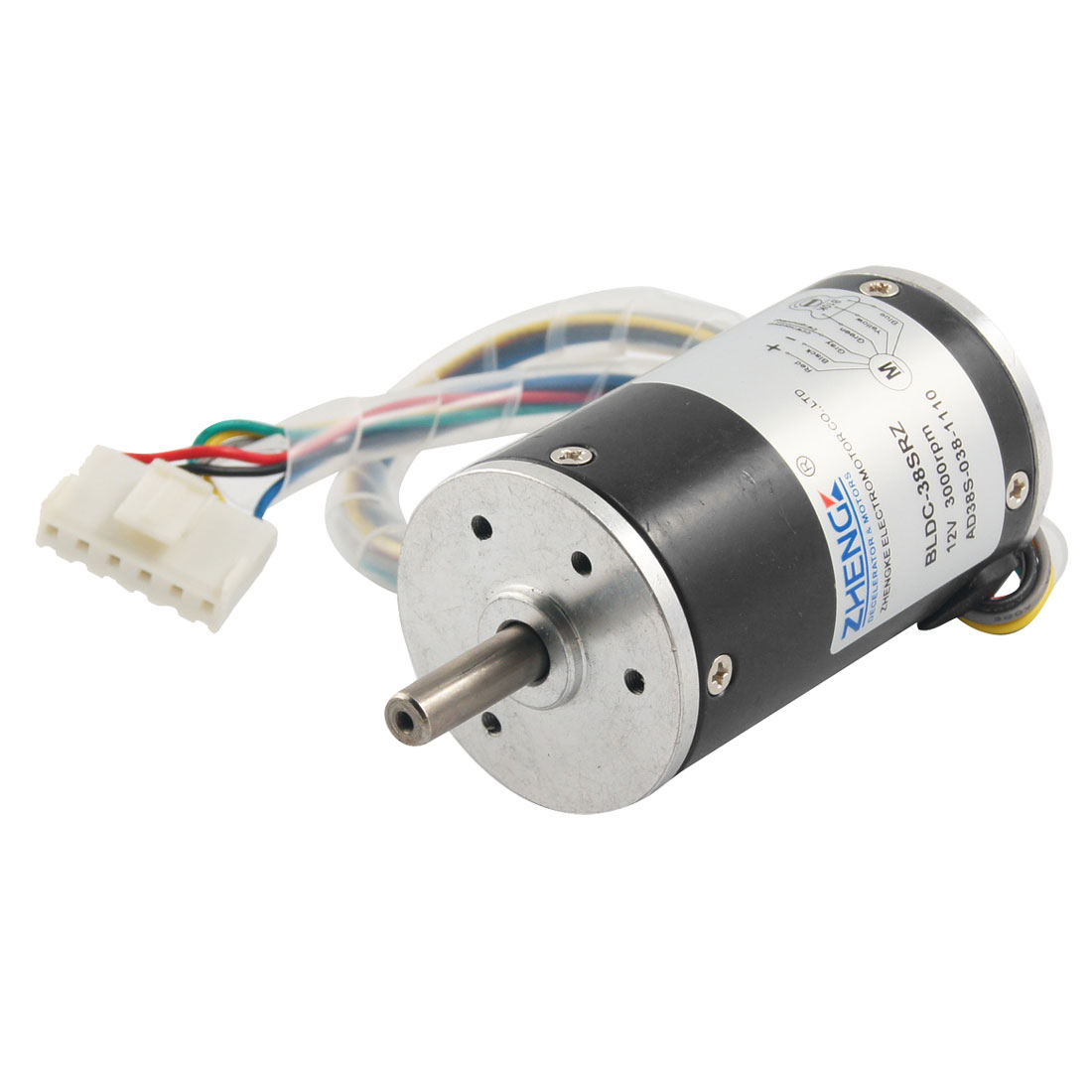 Electrical Machine 3000RPM 12V 0.5A DC Geared Motor