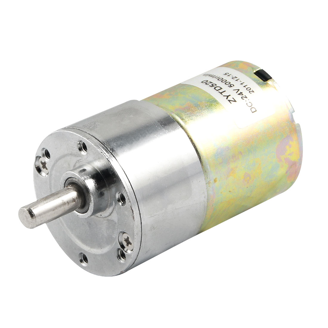 400RPM Output Speed 36mm Diameter 24V 0.33A DC Geared Motor