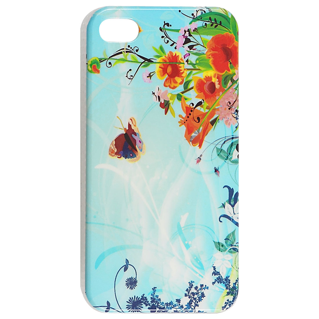 IMD Flowery Hard Plastic Guard Back Protector for iPhone 4 4G 4S