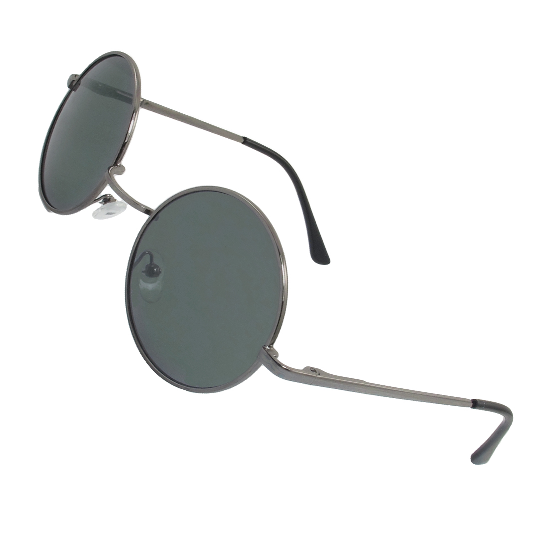 Silver Gray All Frame Gradient Tinted Lens Anti UV Outdoor Sunglasses for Child