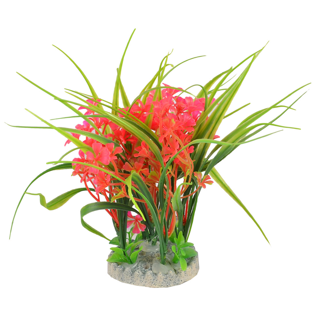 Fish Tank Aquarium Aquascaping Ceramic Base Plants Ornament