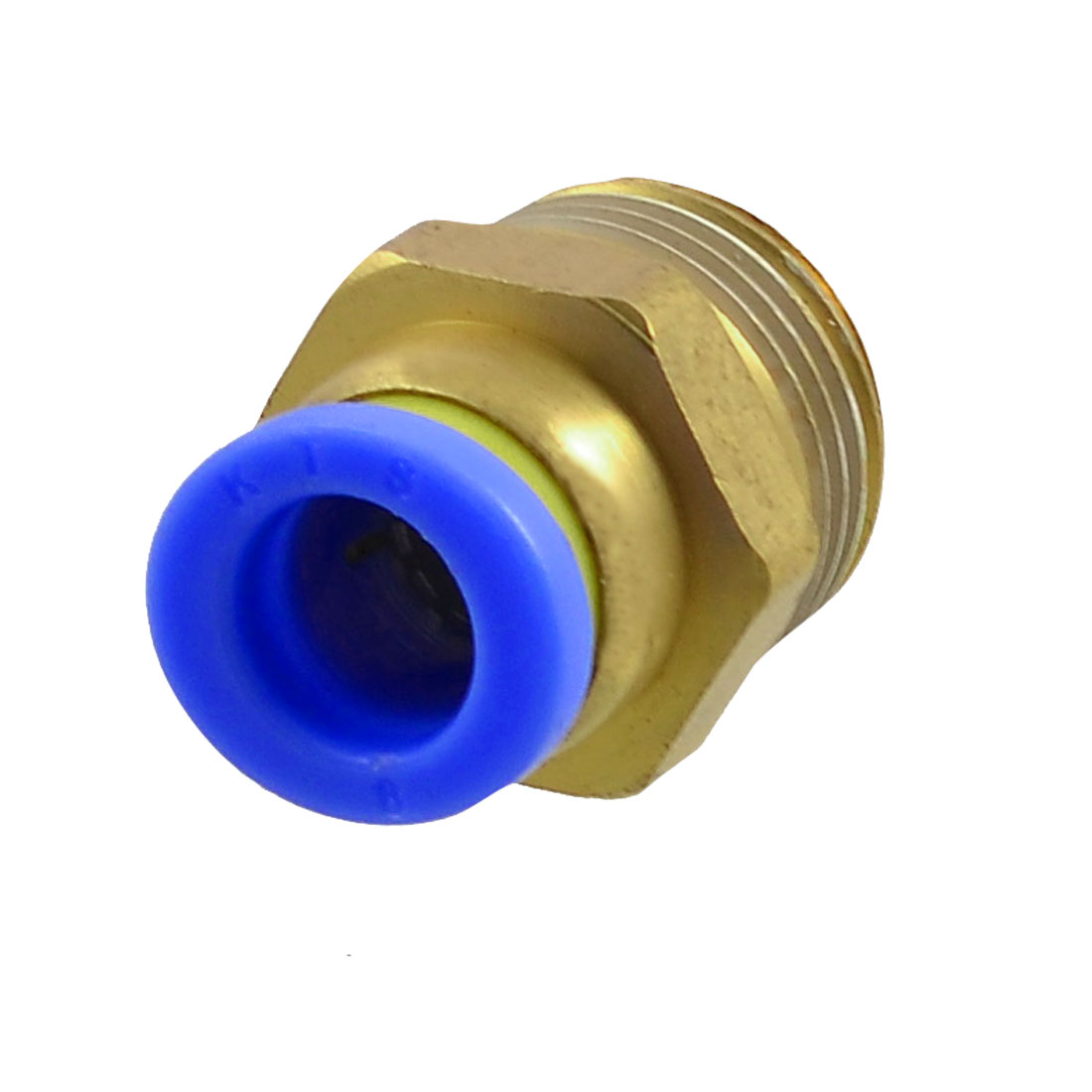 "3/8"" Thread 8mm Connector Dia One Touch Tube Push In Quick Fittings"