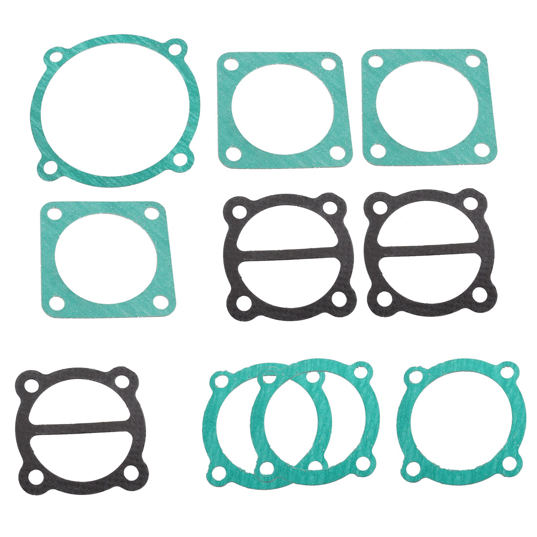 Paper Housing Air Compressor Cylinder Base Head Valve Plate Gaskets 10 Pcs