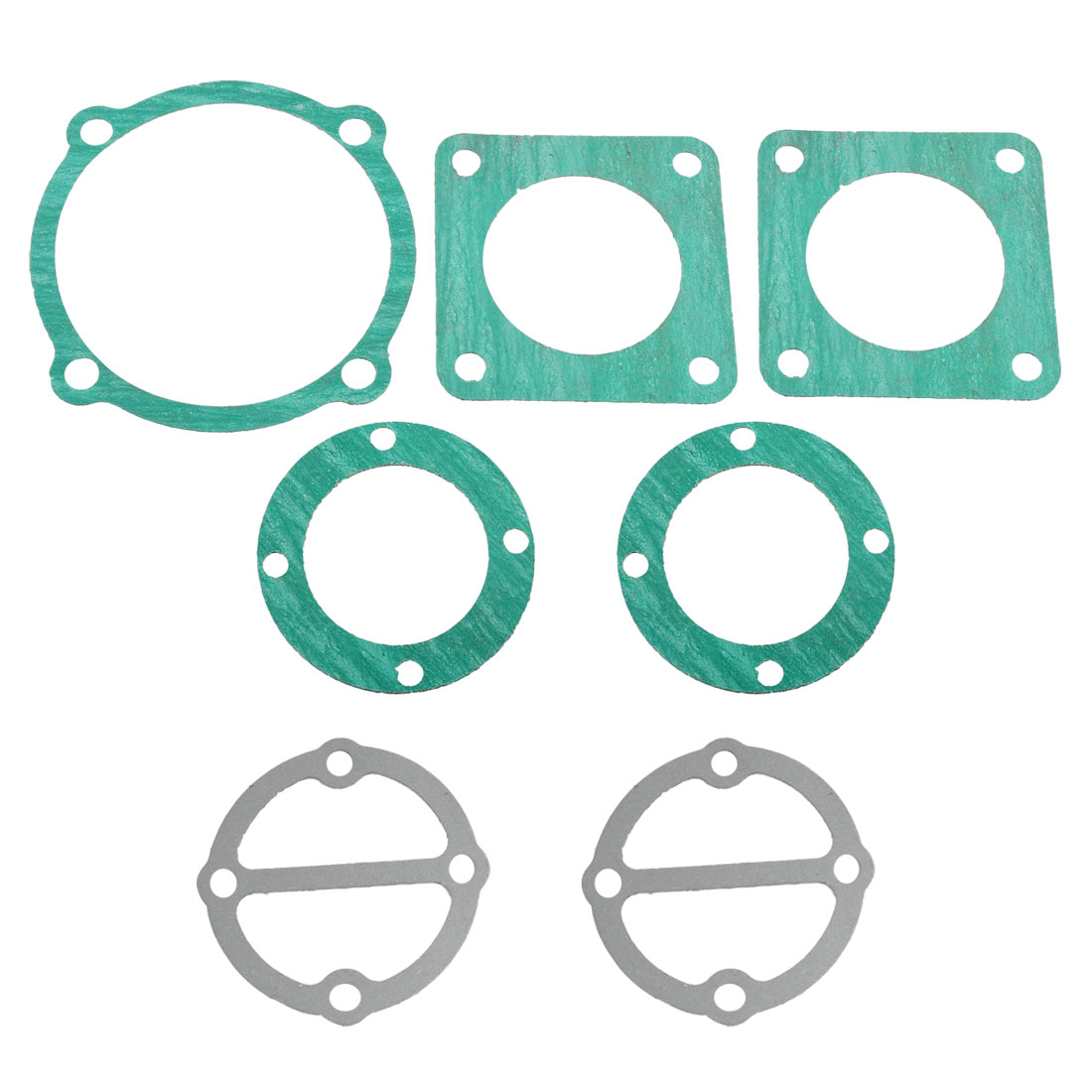 7 Pcs Paper Air Compressor Cylinder Head Base Valve Plate Sealing Gaskets