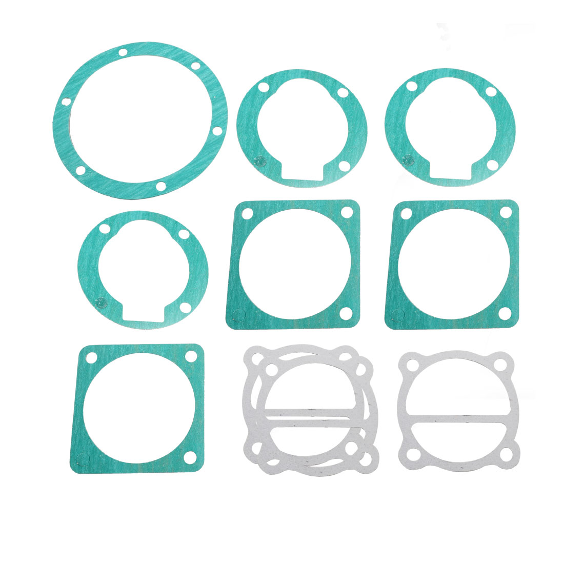 10 Pcs Paper Air Compressor Cylinder Head Base Valve Plate Sealing Gaskets