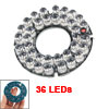 8mm 36-LED 60 Degree Infrared Bulbs IR Board for Security Camera