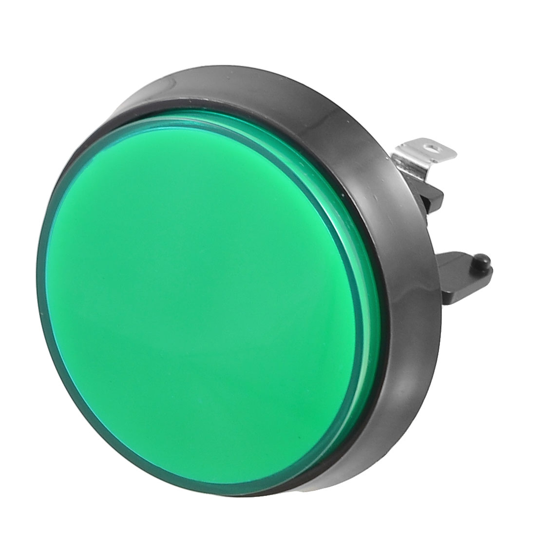 Arcade Game Machines 52mm Dia Green Cap Momentary Push Button for Switch