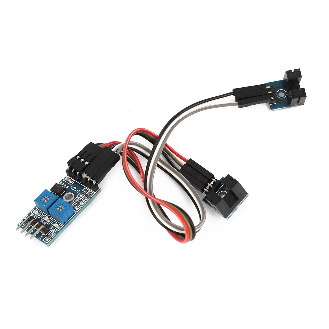 Speed Detection 4 Pins 2 Channel Velocity Measurement Sensor Module