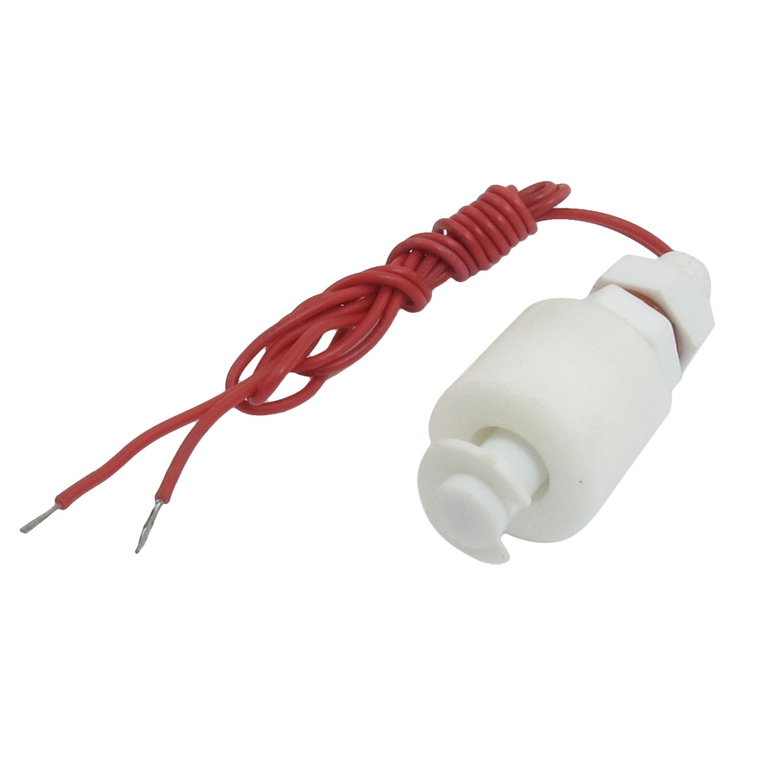 Tank Pool Liquid Water Level Sensor Red Wire Vertical Floating Switch