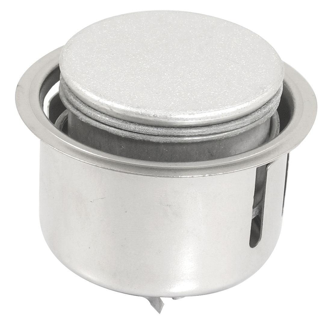Silver Tone Metal Antiflow Steam Release Cooker Valve Vent Replacement