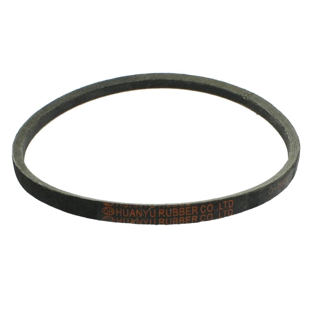 Black Mechanical Auxiliary Rubber Band Drive Vee Belt O-460E