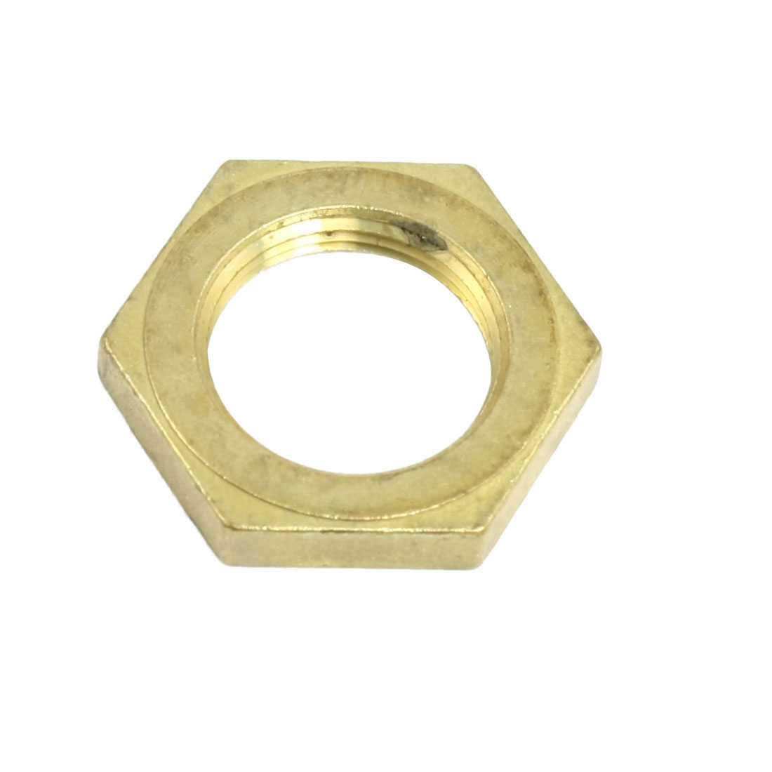 Brass 22mm Diameter Female Thread Hex Head Screw Nut for Washing Machine