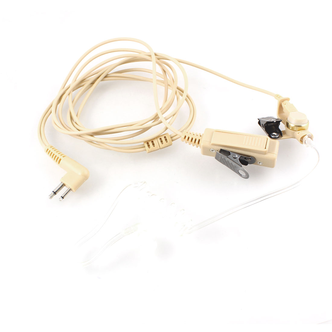 Single Side Earphone w PPT Microphone for Motorola GP88S Two Way Radio