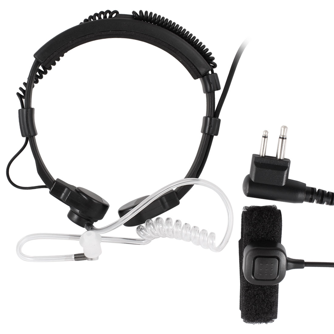 Single Side Earphone w PPT Microphone for Motorola GP88/GP88S Two Way Radio