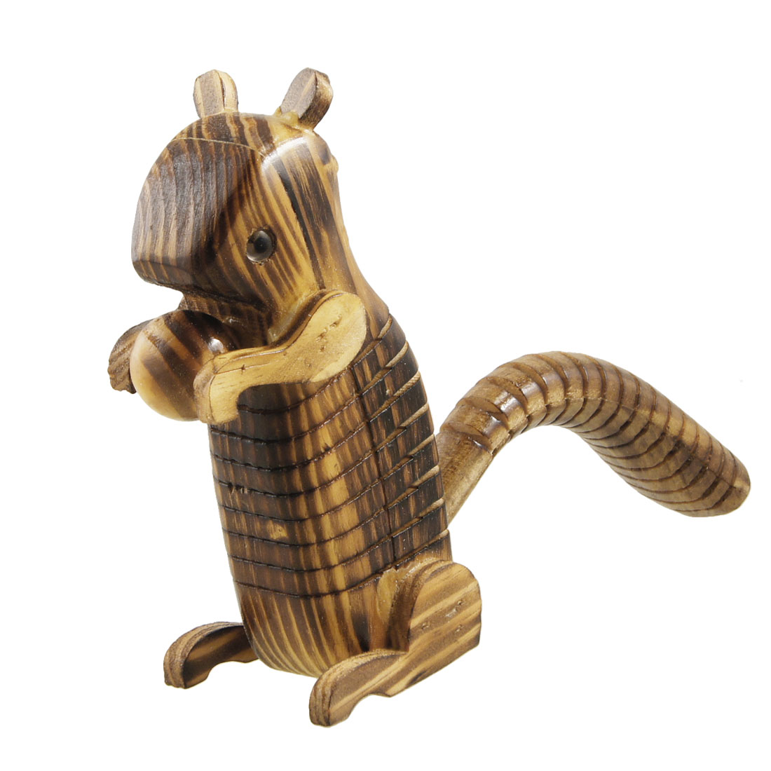 Wood Simulated Collectible Squirrel Play Toy for Children