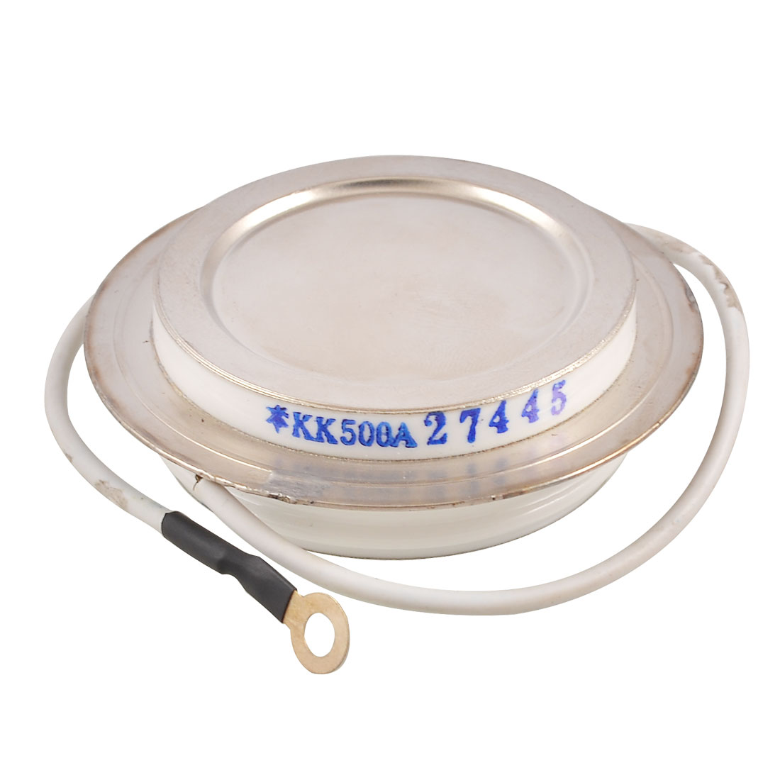 1.6KV 500A KK Silver Tone Metal Case Fast Silicon Controlled Rectifier