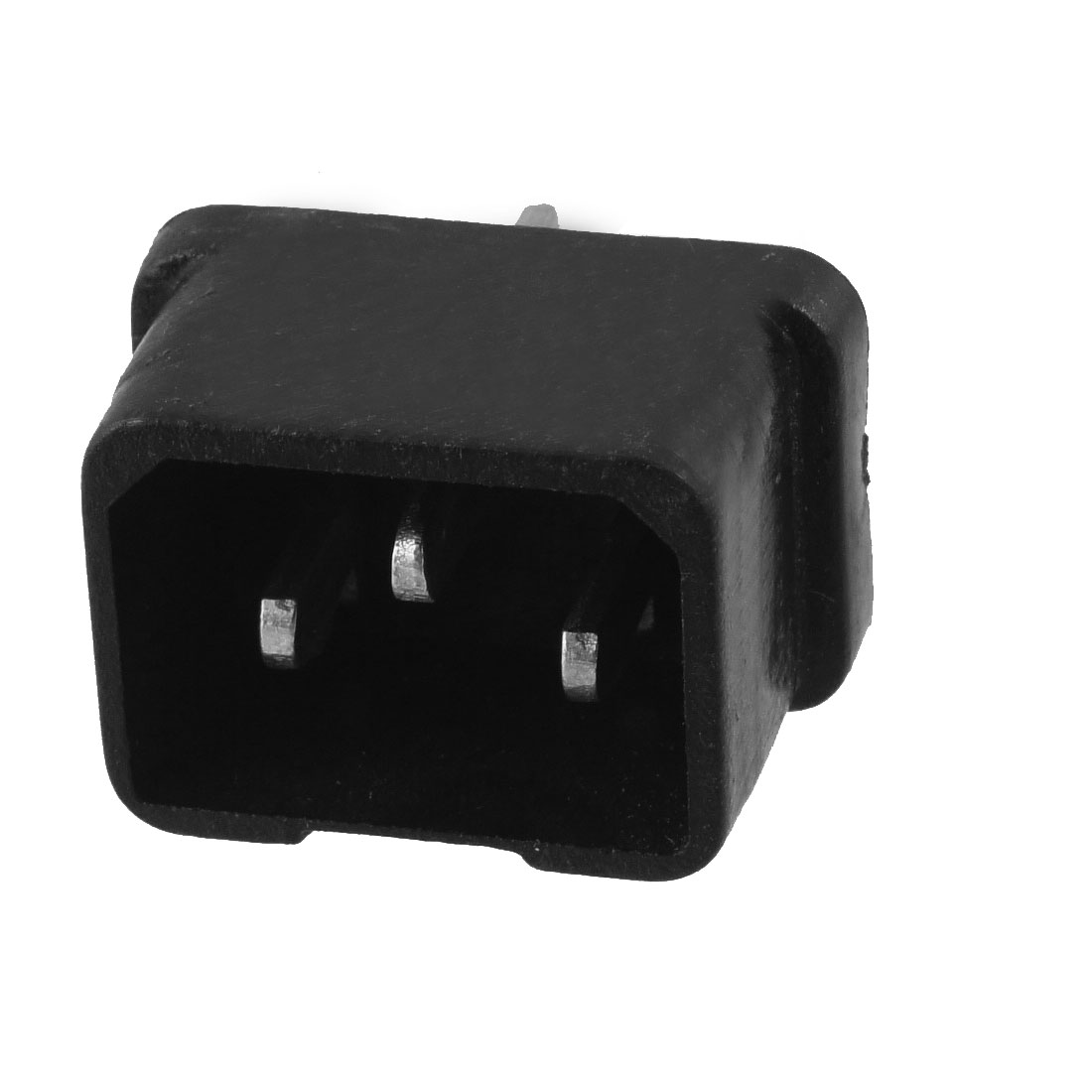 Black C14 Power Adapter Connector for Electric Cooker