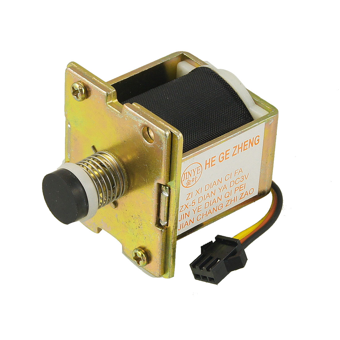 DC 3V 3 Pin Connector Solenoid Valve for LPG Gas Water Heater