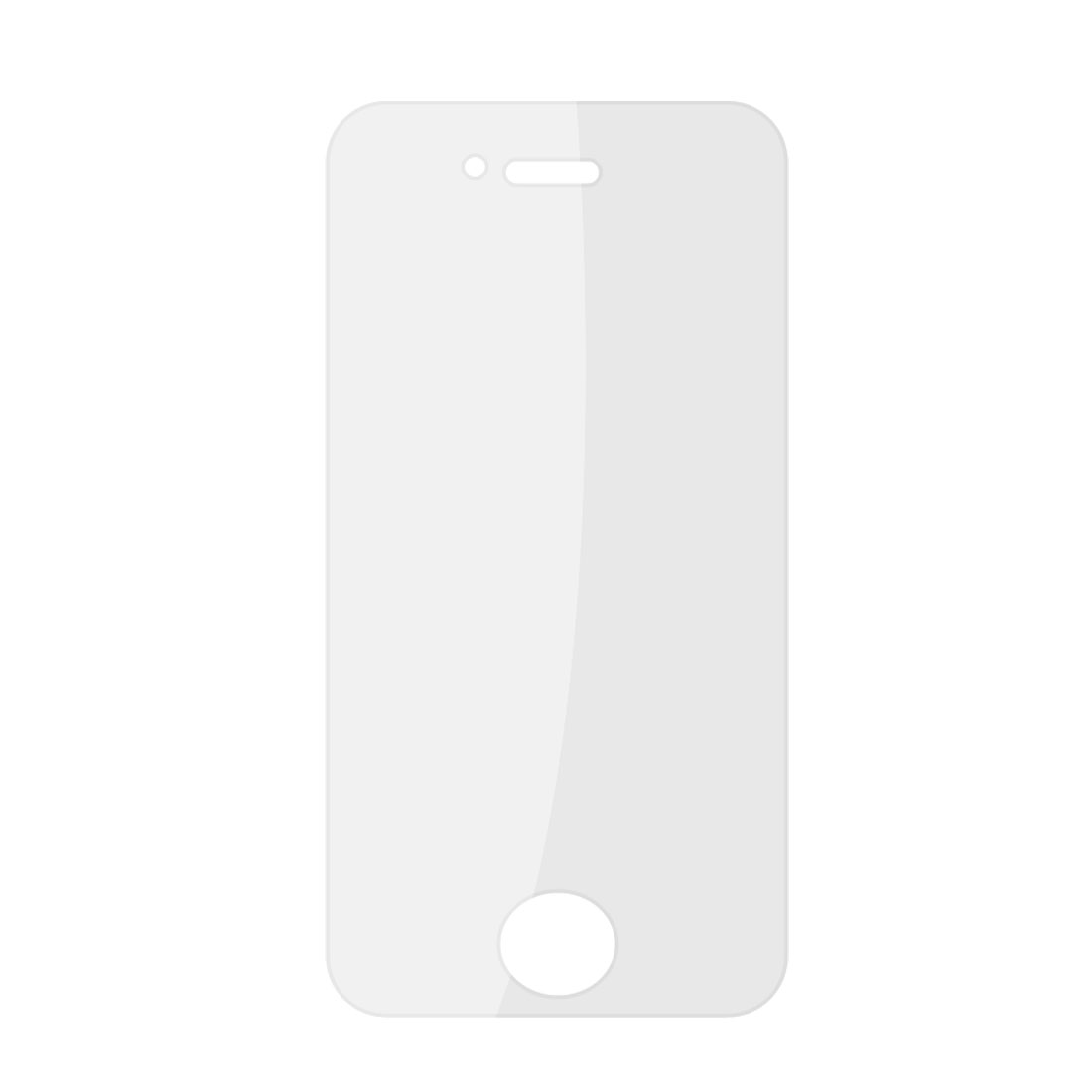 Anti-scratch Protective Clear Plastic LCD Screen Guard for iPhone 4 4G