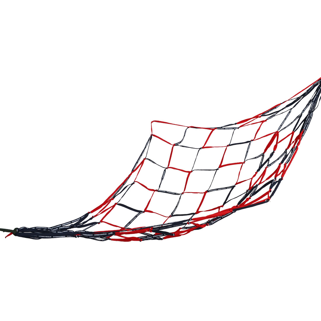 Summer Travel Outdoors Mesh Nylon Weave Net Hammock Black Red