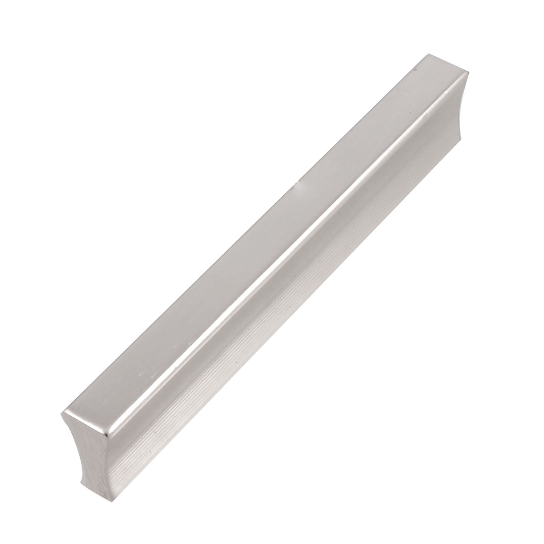 Drawer Hardware 11cm Long Silver Tone Aliminium Pull Handle