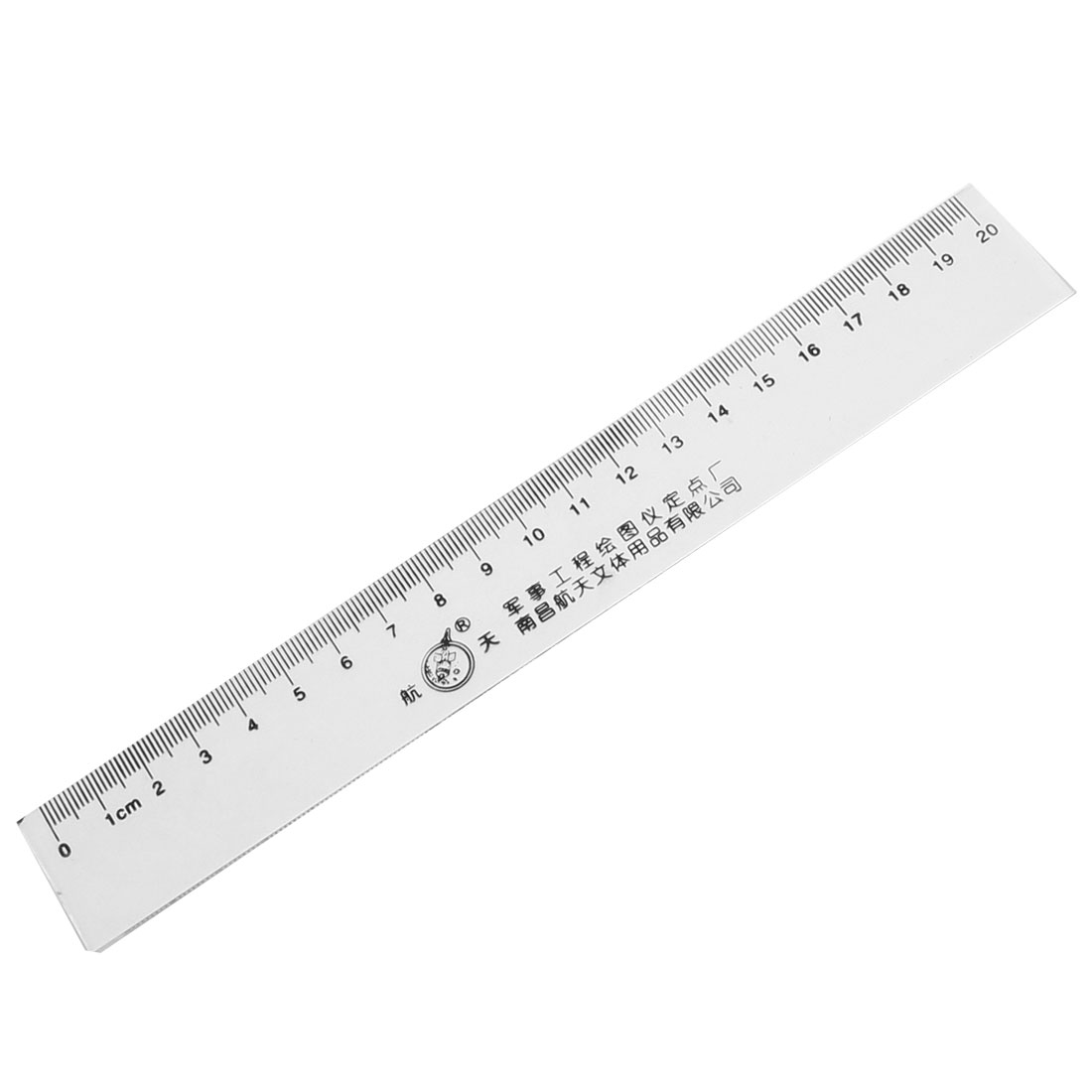 20cm Measurement Clear Plastic Straight Ruler for