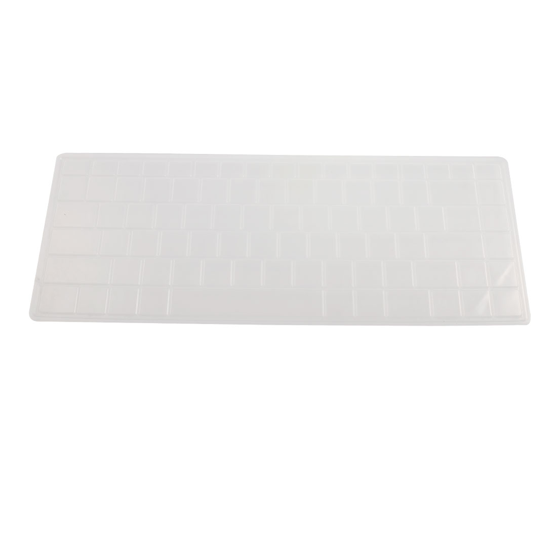 Clear White Silicone Keyboard Protective Cover Film for Asus K40 X8 P80