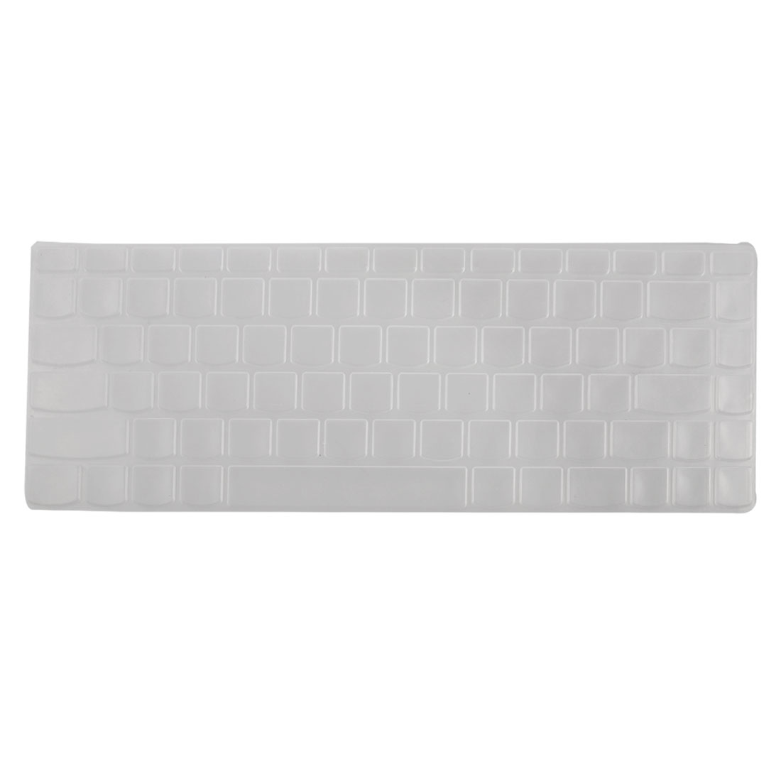 Clear White Keyboard Protect Silicone Skin Cover for Lenovo Z460 Z465 Z360