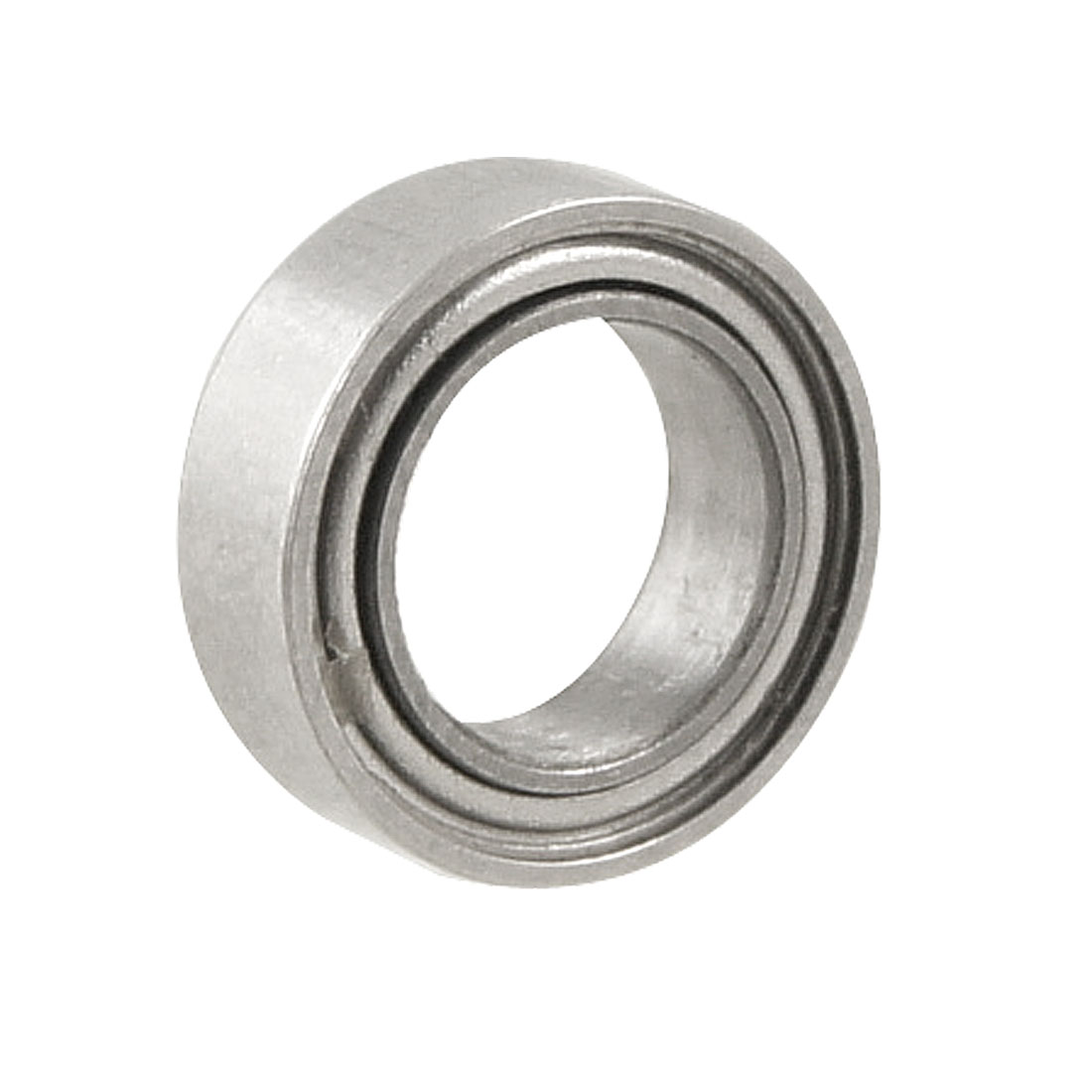 Silver Tone Metal 8mm x 5mm x 2.5mm Shield Ball Bearing