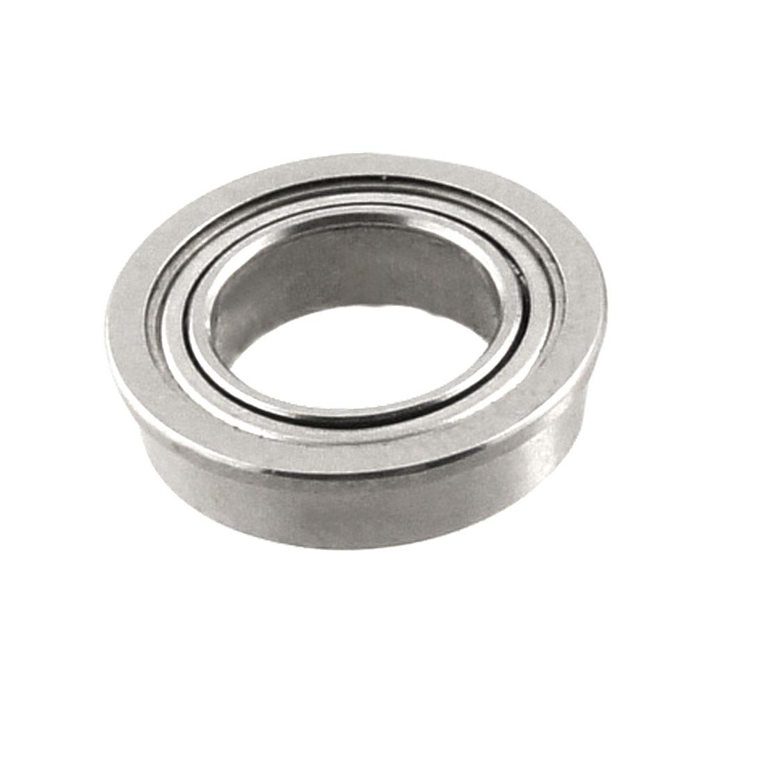 11mm x 7mm x 3mm Shield Ball Bearing Silver Tone