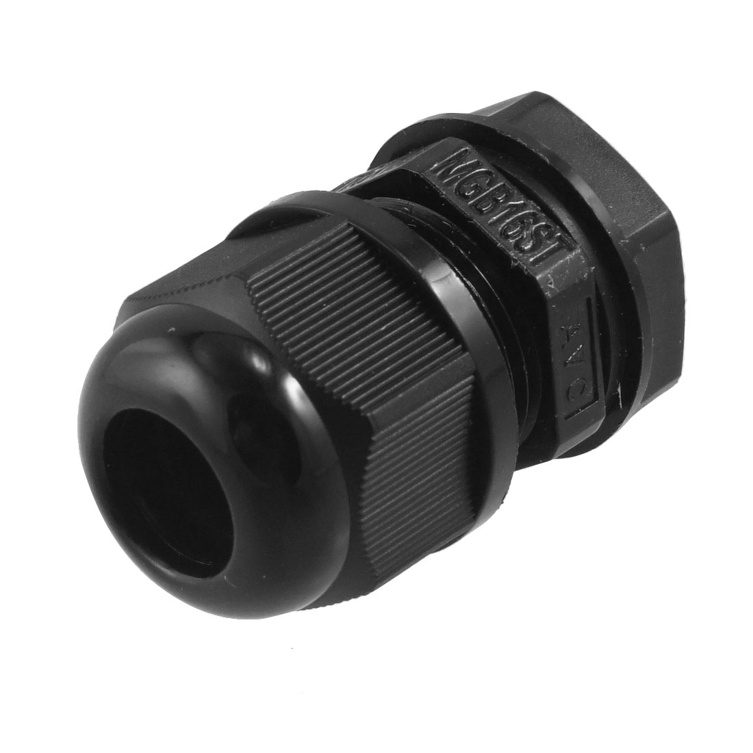 Black Plastic Waterproof M16 5-10mm Diameter Cable Gland