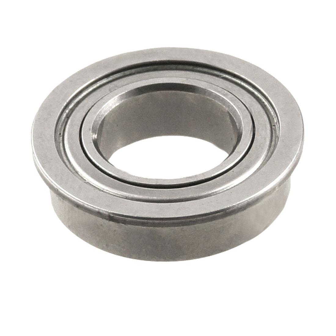 Silver Tone 14mm x 8mm x 4mm Shield Premium Ball Bearing