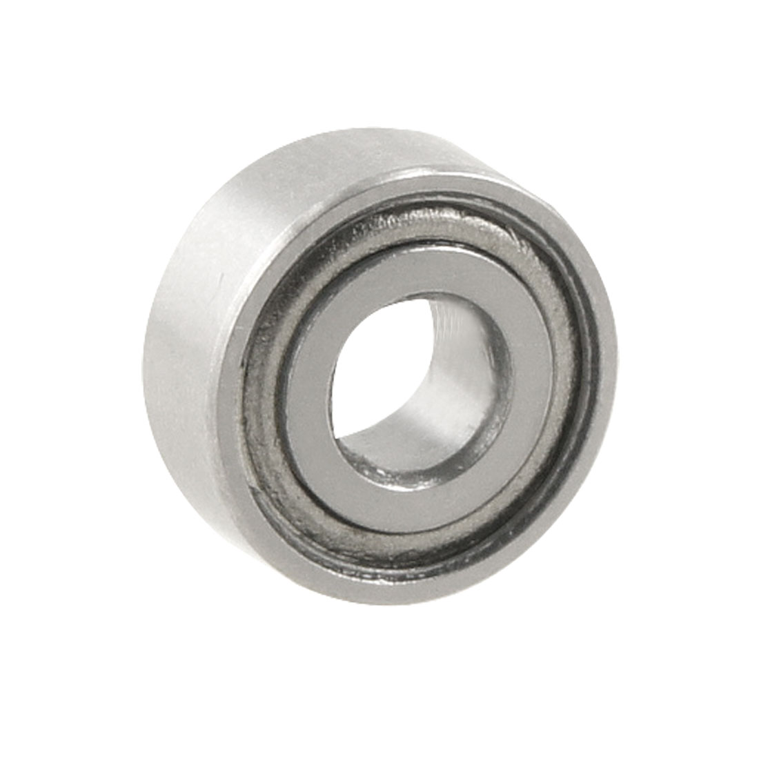 Silver Tone Magnetic 10mm x 4mm x 4mm Shield Ball Bearing