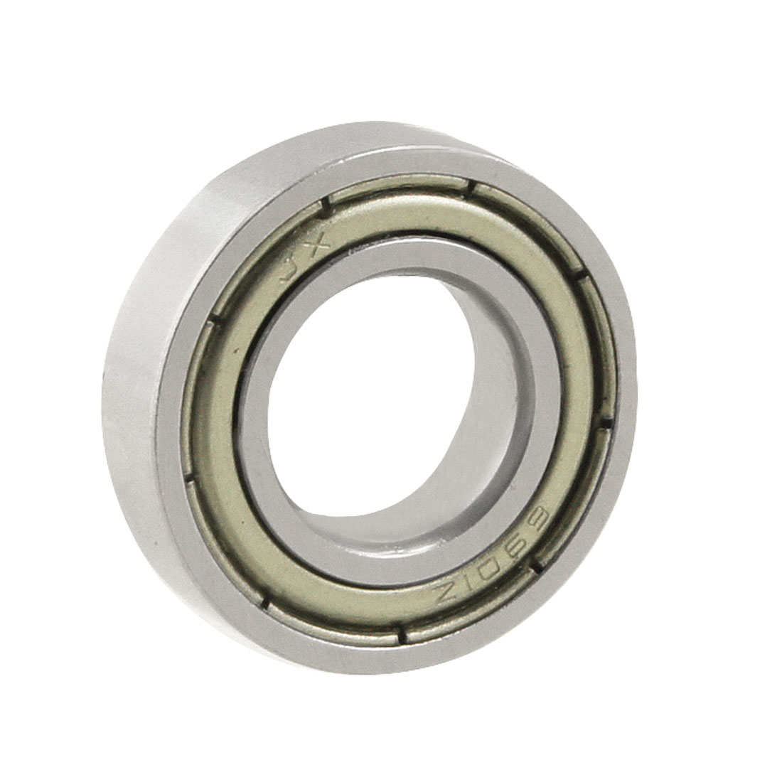 Silver Tone 6901Z 24mm x 12mm x 6mm Shield Ball Bearing